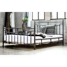 furniture of america revo industrial antique black metal bed antique black bedroom furniture