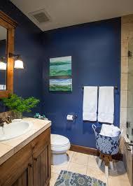 Dark Blue Bathroom Decorating Ideas