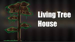 Terraria Living Wood Tree House Build Youtube