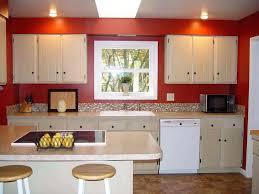 red kitchen wall decor paint ideas for walls and black