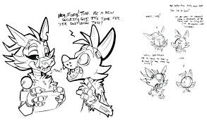 Fnaf Coloring Pages Inspiring Cool Puppet Master Sketch Page Foxy