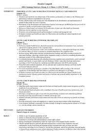 sample clinical nurse specialist resume nurse practitioner resume mentallyright org