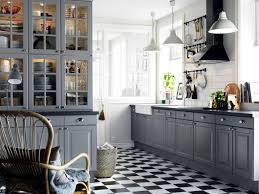 White Floor Tile Kitchen Floor Tile Patterns Kitchen This Darker Grout Works Because It