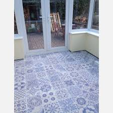 blue bathroom floor tiles. Perfect Tiles Skyros Delft Blue Wall And Floor Tile Roomset On Bathroom Tiles D