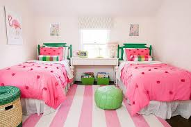 pink and green girl