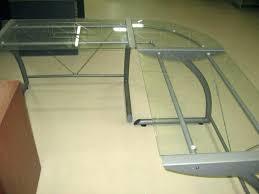 office depot glass computer desk. Fine Computer L Shaped Desk Glass Office Depot Do Now Desks  Intended Office Depot Glass Computer Desk I
