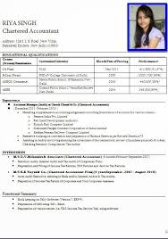 Resume Format For Job Interview Free Download | Resume Corner