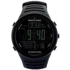 north edge mens digital hiking watch sixty six depot northedge mens digital watch outdoor fishing weather altimeter barometer thermometer altitude climbing hiking camping