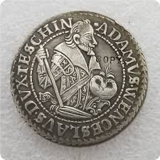 Silesia Teschen Thaler Adam Wenzel 1609 COIN COPY|Non-currency Coins| -  AliExpress