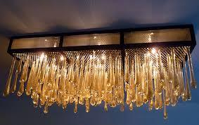 custom n glass lighting pendants sculpture art