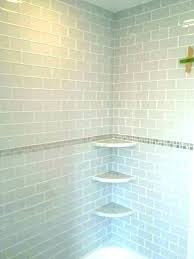 bathroom tile corner shelf ceramic install shelves daltile shower