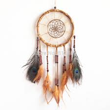 Dream Catcher Without Feathers New Arrival Dream Catcher double rings Bamboo Circle Totally 61