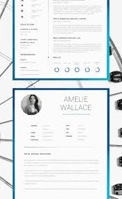 Clean Professional Cv With Matching Cover Letter And Samples ...