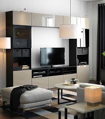 living room furniture kick back relax and enjoy your favorite tv show or a night the ikea bestÅ system is a neat stylish way to organize your