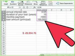 Calculator Excel Mortgage Payment Fixed Principal Loan Formula ...