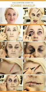 makeup 2018 15 step by step halloween make up tutorials for beginners