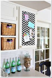 How To Make Fabric Memo Board Awesome One Yard Decor Inset Kitchen Cabinet Memo Board And More In My