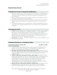 Summary Examples For Resume Sample Summary In Resume Resume Summary