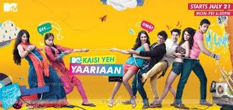 Chart Mtv Mtv Indias Kaisi Yeh Yaariyan Tops The Trp Chart Among The