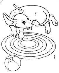 Dachshund Coloring Book Pages Dachshund Cartoon Drawing Coloring