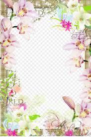 spring flowers border clipart. Exellent Border Picture Frame Clip Art  Spring Flower Border Inside Flowers Clipart