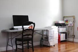simply organized home office. simply organized home office under construction