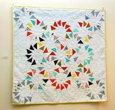 5 Playful Pinwheel Baby Quilt Patterns to Piece | Craftsy Blog & circle of geese pinwheel quilt Adamdwight.com