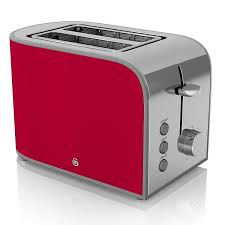 Retro Toasters swan 2slice retro toaster 800 watt red amazoncouk kitchen 7661 by xevi.us
