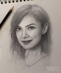 Pada dasarnya arang keras pada pensil ini terbuat dari grift. 10 Potret Lukisan Wajah Kece Artis Dengan Sketsa Pensil Mirip Banget