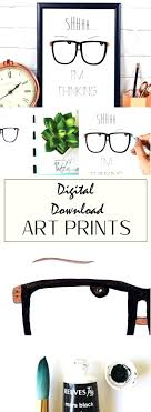 best office art. funny work quotes art print nerdy glasses office prints digital downloads watercolors best