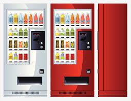 Vending Machine Free Drink Mesmerizing Drink Vending Machine Illustration Vending Machine Machine