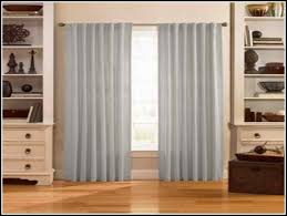 stylish long tension rod for curtains eyelet curtain curtain ideas tension rods for curtains remodel