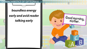 giftedness in children definition characteristics conceptions video lesson transcript study
