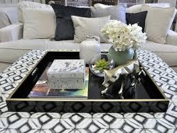 square coffee table decor ottoman