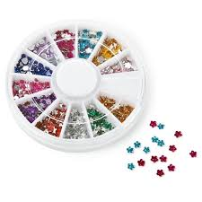 NPW Nail Art Gem Wheel available from Flamingo Gifts.
