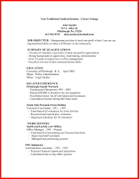 Traditional Resume Format Apa Example