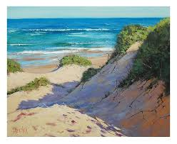 sand dunes painting beach oil painting traditional seascape sand dunes by graham sand dunes beach paintings sand dunes painting