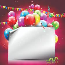 Happy Birthday Background Images Beautiful Colorful Balloons Happy Birthday Background Vector Free