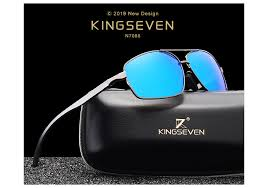 KINGSEVEN <b>Vintage</b> Retro Brand Designer <b>Men</b> Polarized ...