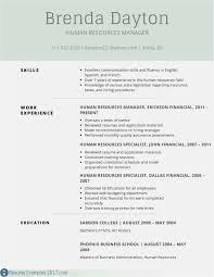 Free 56 Free Basic Resume Templates Microsoft Word Model