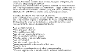 Marketing Project Manager Job Description 6 Marketing Project