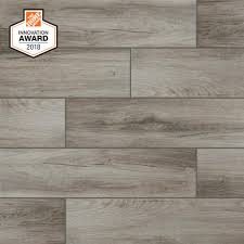 Tile flooring Rustic Lifeproof Shadow Wood In 24 In Porcelain Floor And Wall Tile Builddirect Lifeproof Shadow Wood In 24 In Porcelain Floor And Wall Tile