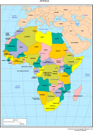 maps of africa