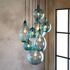 colored glass lighting. Large Glass Pendant Light Blown Shades Size Of Lights Attractive Colored Lighting