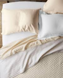 eileen fisher washed linen quilt and sham