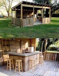 diy pallet patio bar. Outdoor Pallet Bar...these Are The BEST DIY Ideas! Diy Patio Bar Y