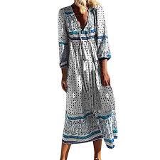 Yang Yi Gifted Idea Women Plus Size Long Dress Ladies