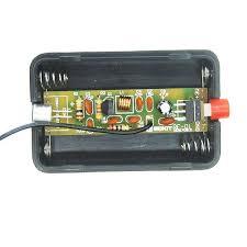 <b>3Pcs RF-01 DIY Wireless</b> Microphone Parts 5mA 70MHz FM ...