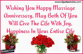 Happy Wedding Anniversary Quotes Beauteous Wishing You Happy Marriage Anniversary Quotes And Greetings In
