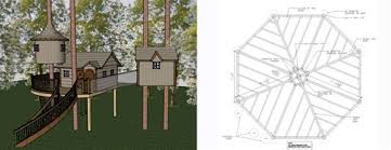 Wonderful Tree House Designs And Plans U Intended Creativity Ideas
